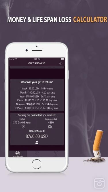 تصاویر Quit Smoking-App : Stop Smoking Cigarettes