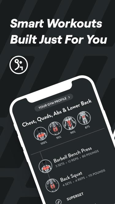 تصاویر Fitbod Workout & Fitness Plans  بدنسازی و تناسب اندام فیت باد