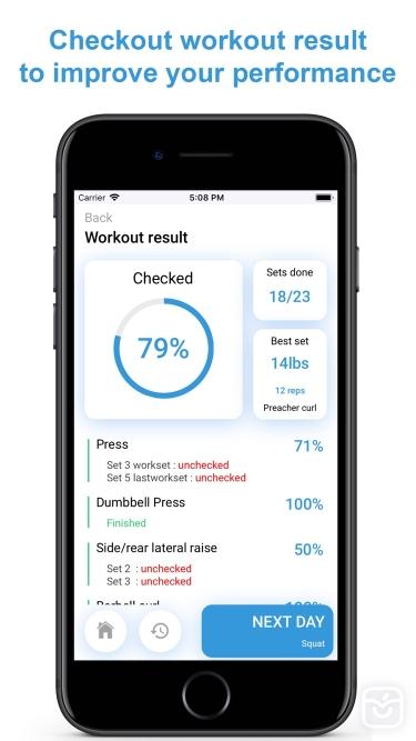 تصاویر Your Workout Plan