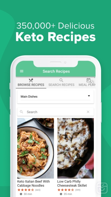 تصاویر Carb Manager: Keto Diet App