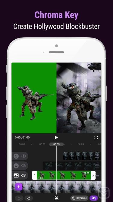 تصاویر Motion Ninja Video Editor