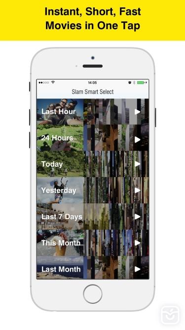 تصاویر VideoSlam - Instant Video Compilations from your Videos and Photos