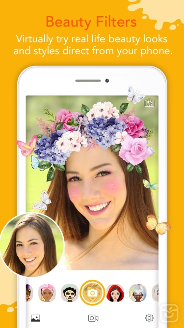 تصاویر YouCam Fun - Live Face Filters