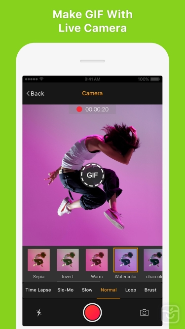 تصاویر GIF Maker - Make Video to GIFs