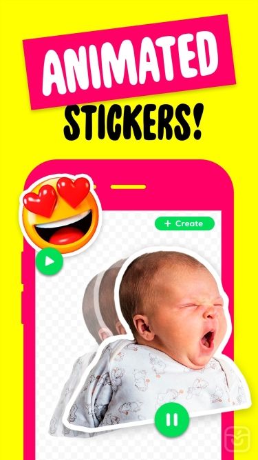 تصاویر Sticker Maker + Stickers