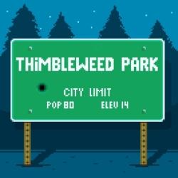 لوگو Thimbleweed Park