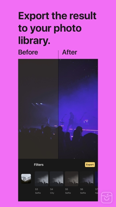 تصاویر Filterious Photo Filters