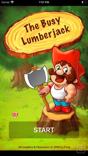 تصاویر The Busy Lumberjack