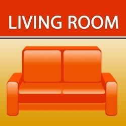 لوگو Living rooms. Interiors design