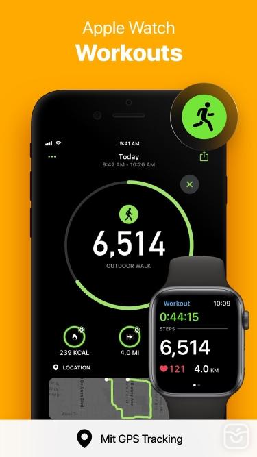تصاویر StepsApp Pedometer