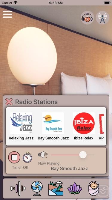 تصاویر zzZ White Noise Sound Machine