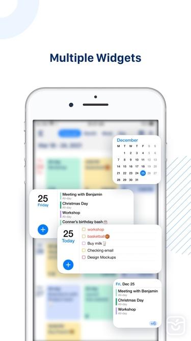 تصاویر Tiny Calendar Pro