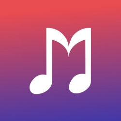 لوگو Melodify Music and Podcasts
