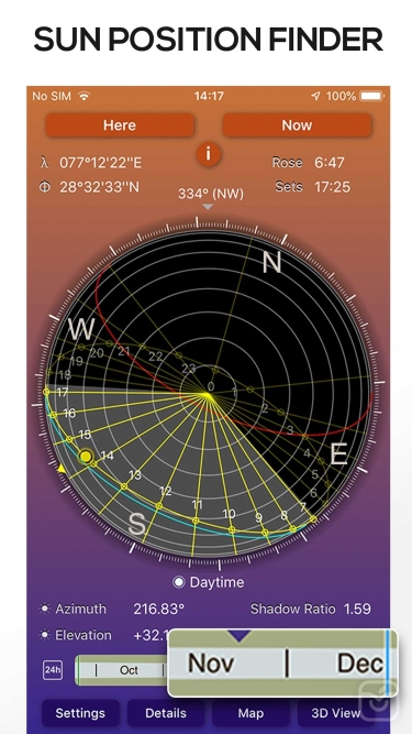 تصاویر Sun Seeker - Tracker & Compass