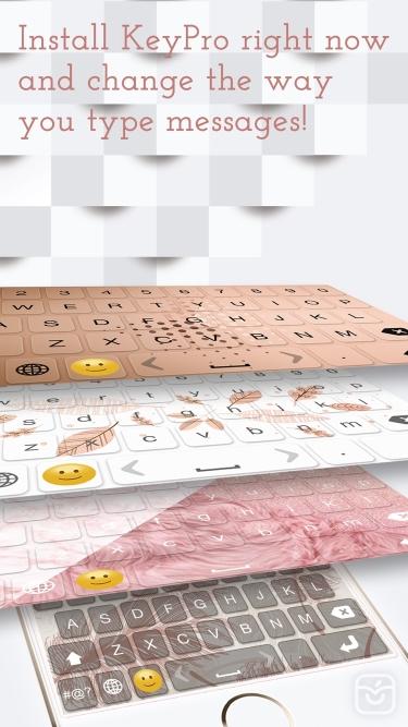 تصاویر KeyPro – Keyboard Themes Emoji