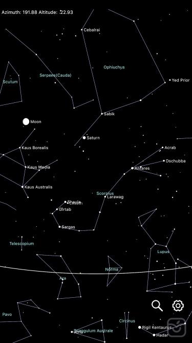 تصاویر Constellation Map mobile