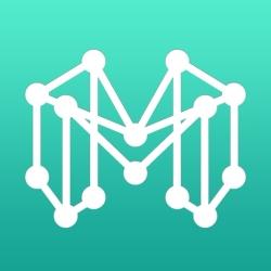 لوگو Mindly (mind mapping)