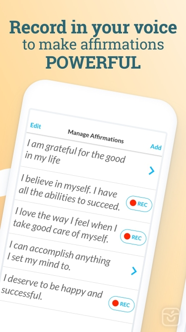 تصاویر ThinkUp: Positive Affirmations