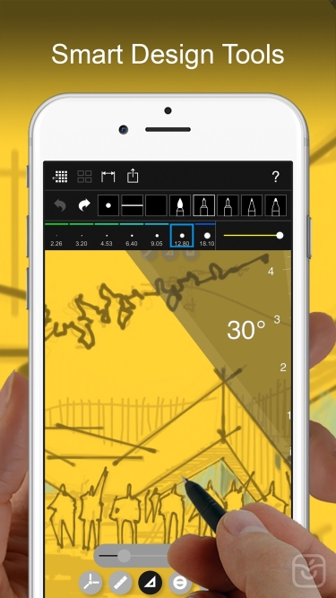 تصاویر Morpholio Trace - Sketch CAD