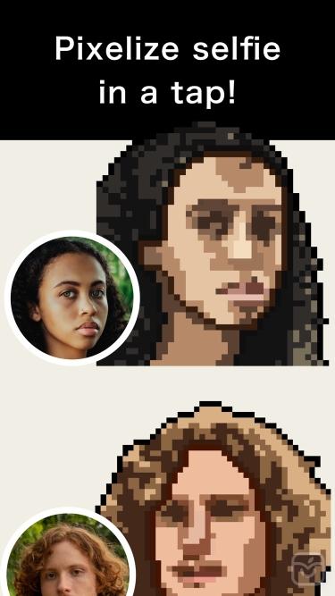 تصاویر PixelMe-Convert into pixel art