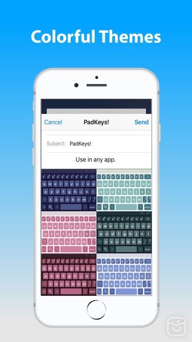 تصاویر PadKeys Keyboard