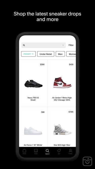 تصاویر GOAT – Shop Sneakers