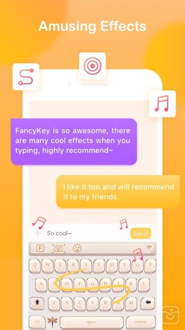 تصاویر FancyKey - Keyboard Themes