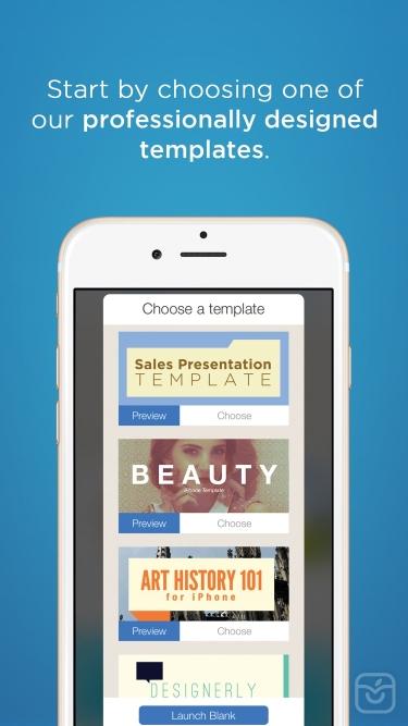 تصاویر FlowVella Presentation App