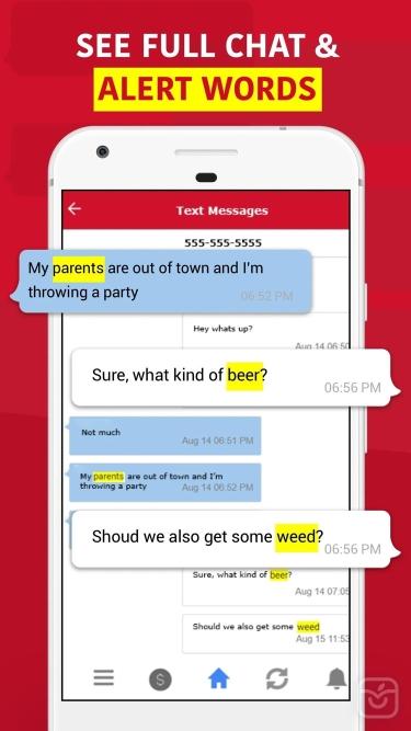 تصاویر WebWatcher Parent App