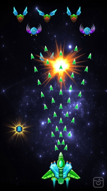 تصاویر Galaxy Attack: Alien Shooter|حمله به کهکشان