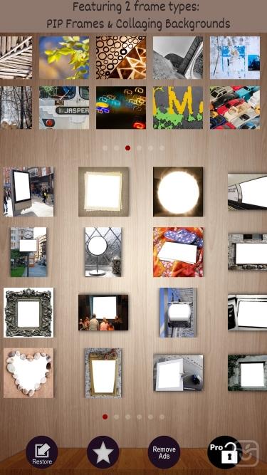 تصاویر Frames Creative PIP in Photo