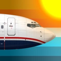 لوگو 737 Flight Simulator