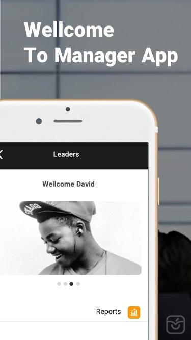 تصاویر Manager's App